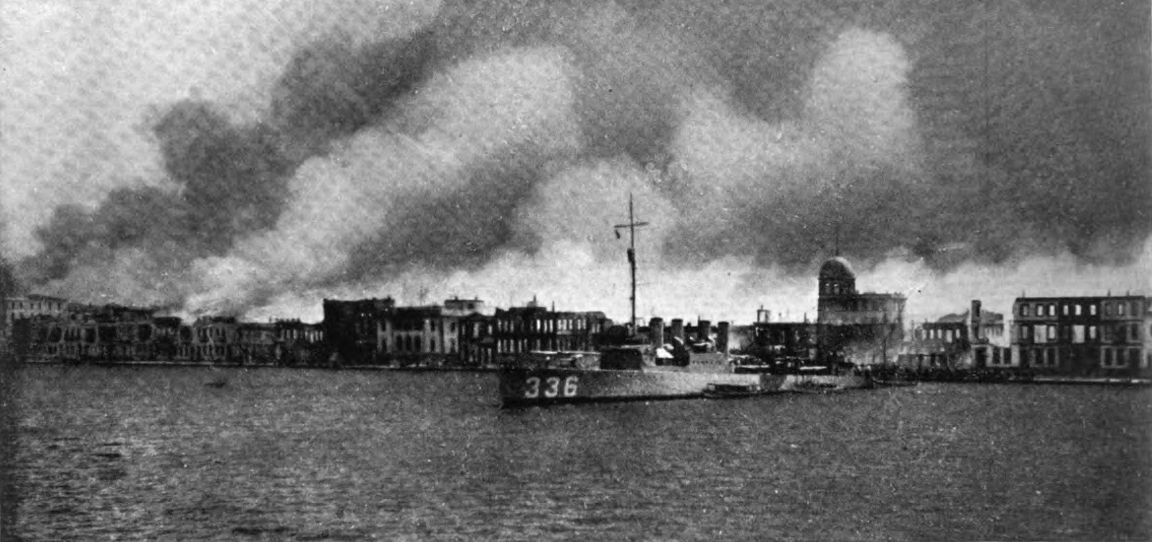 1922 İzmir Yangını