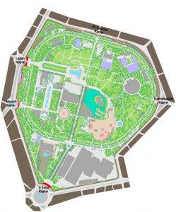 Kültürpark Haritası